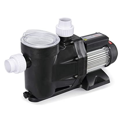 ARKSEN 0.8HP Swimming Pool Pump 4080GPH For Above Ground Swimming Pool  Strainer Basket (UL Listed) Hose Adapters