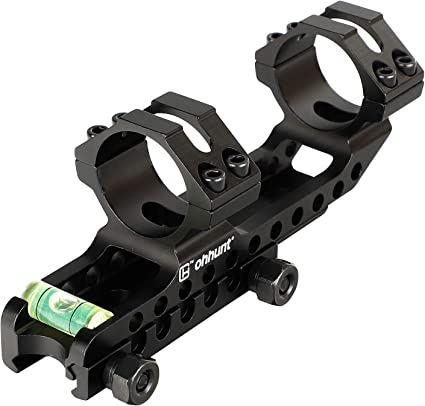 """1/"""" 25.4mm//30mm High Profile Weaver Picatinny Rail 20mm Quick Release Scope Mount"""