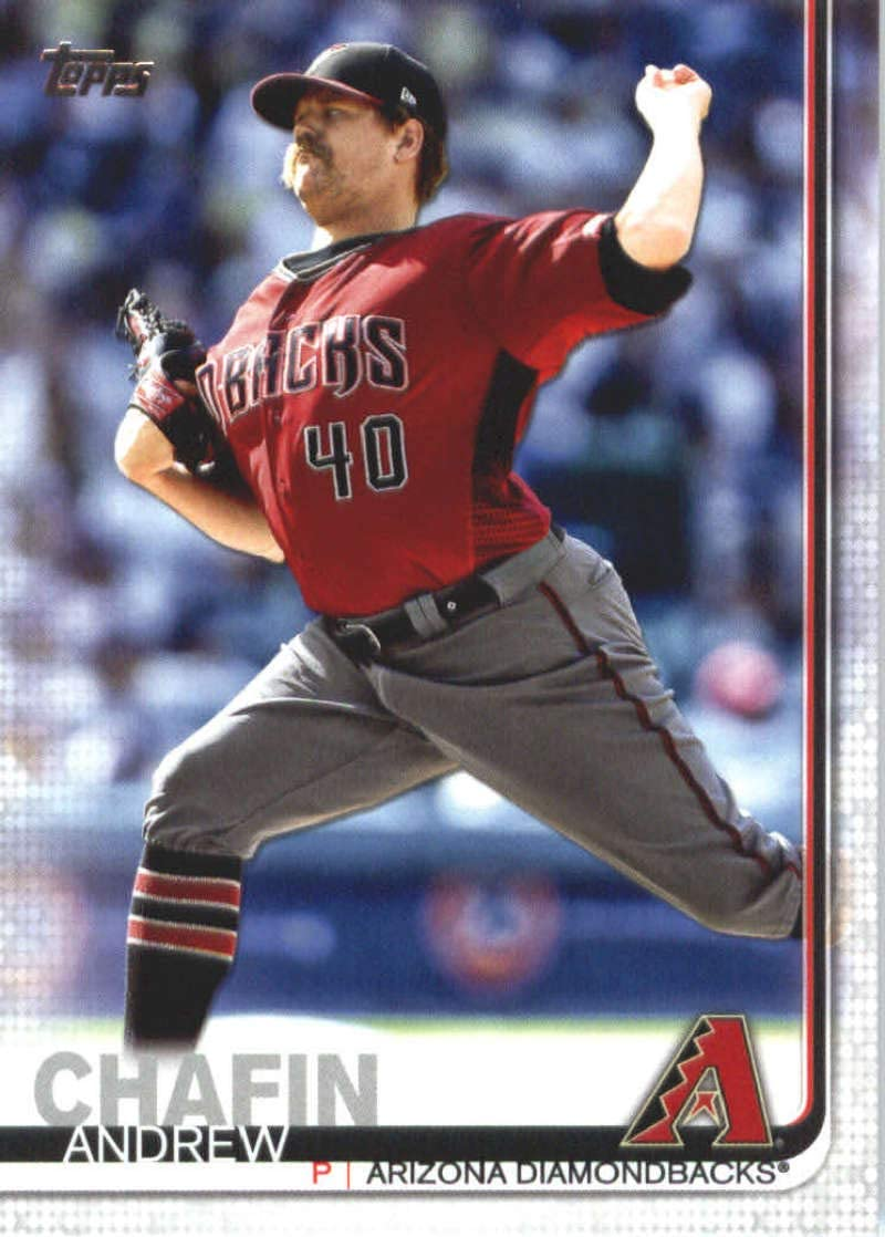 2019 Topps #484 Andrew Chafin Arizona Diamondbacks Baseball Card