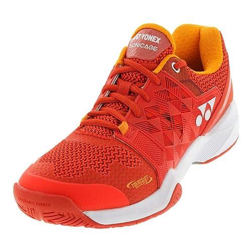 86d3edbc889 Yonex Power Cushion Sonicage Men s Shoe Orange