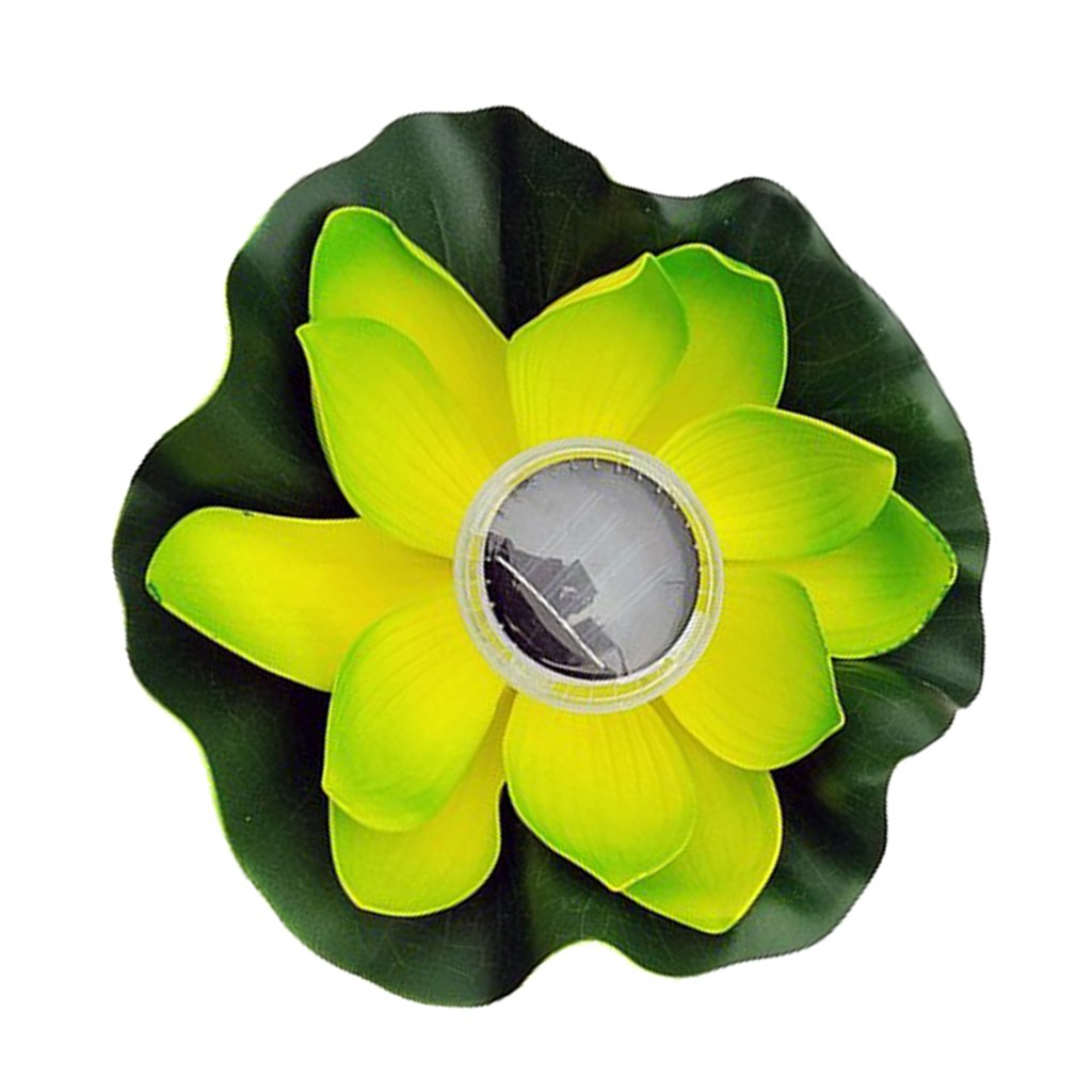 Luz LED Solar Lámpara de Forma Flor Luces Iluminación Producto de ...