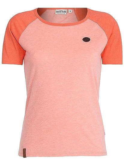 Naketano Damen T Shirt Gebumst Wie Gebämst T Shirt: Bekleidung