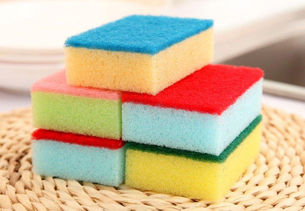 Chakil 20 pz spugna spugnette catering spugne//pagliette spazzola lavapiatti cucina strumenti di pulizia Design