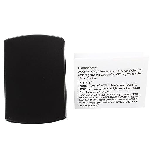 SODIAL(R) 600g * 0.1g Mini Bascula Balanza de bolsillo balanzas electronicas: Amazon.es: Electrónica