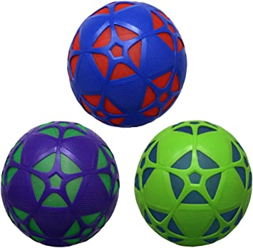 Swimways 6038062 – Pelota de fútbol Luminosa reactorz, Colores ...