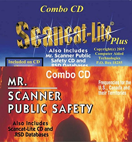 2017 EDITION COMBO CD 2 in 1 CD Includes both Scancat_Lite-Plus and Mr.Scanner -NEW! Supports BCD325/996P2 UNIDEN on Windows 10