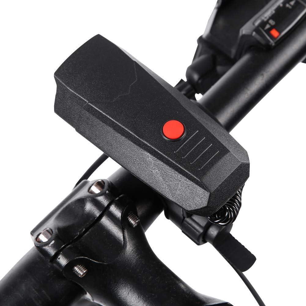 Campana de Alarma de Bicicleta Resistente Bicicletas de Carretera de Dos Modos Ligeras y antioxidantes para Uso a Largo Plazo Bicicleta Todas Las Bicicletas Junluck Bocina de Bicicleta