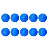 DYNWAVE 10 Pieces PU Foam Golf Ball Sponge Balls
