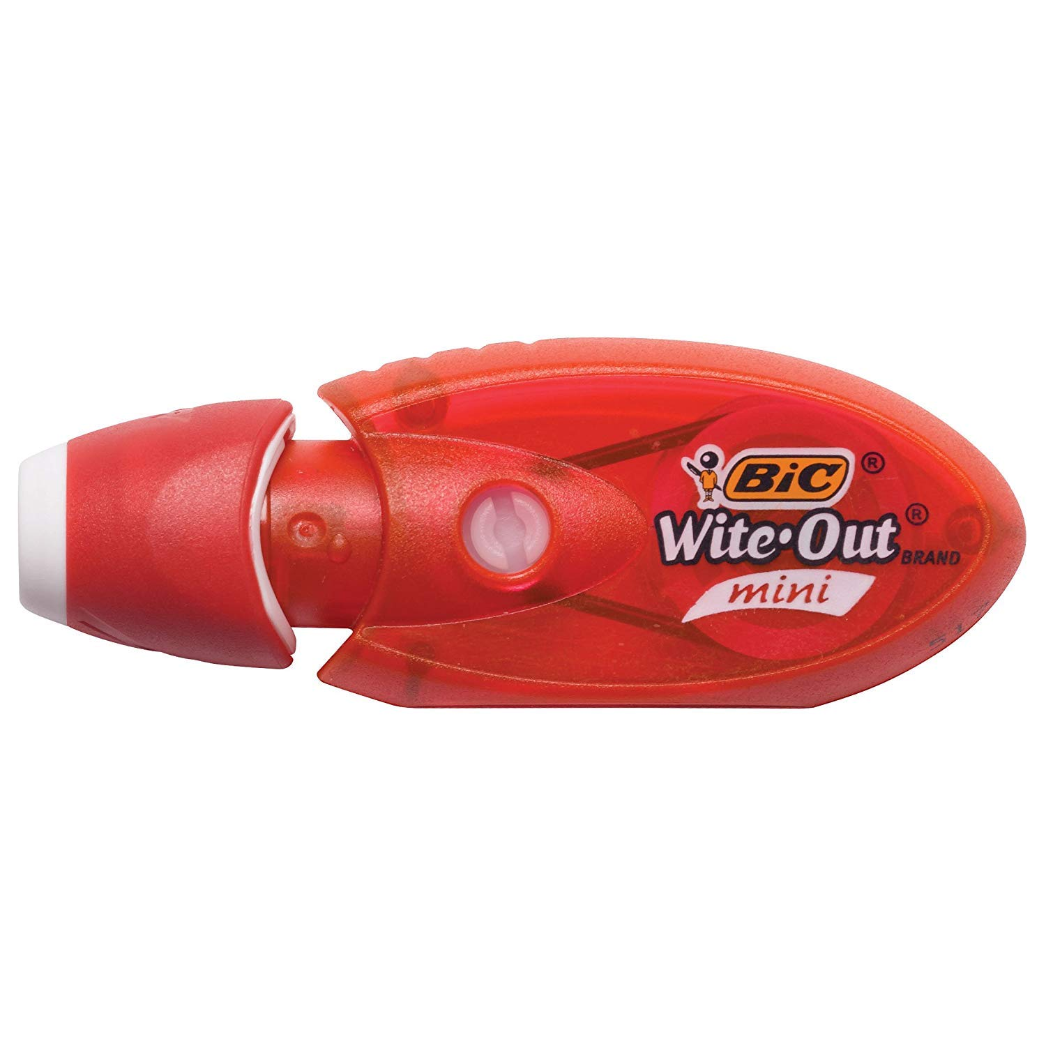 2-Count WOMTP21 5 Pack BIC Wite-Out Brand Mini Twist Correction Tape White