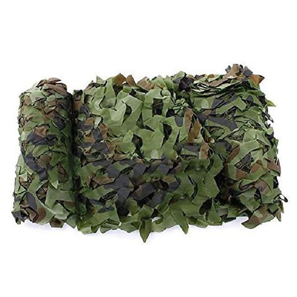 8x9m Filet de camouflage parasol multi-usage Filet de camouflage Filet de camouflage Oxford Trois couches de moustiquaire double face cachée Camping Crème solaire (Taille  6x6M) BÂche AI LI WEI