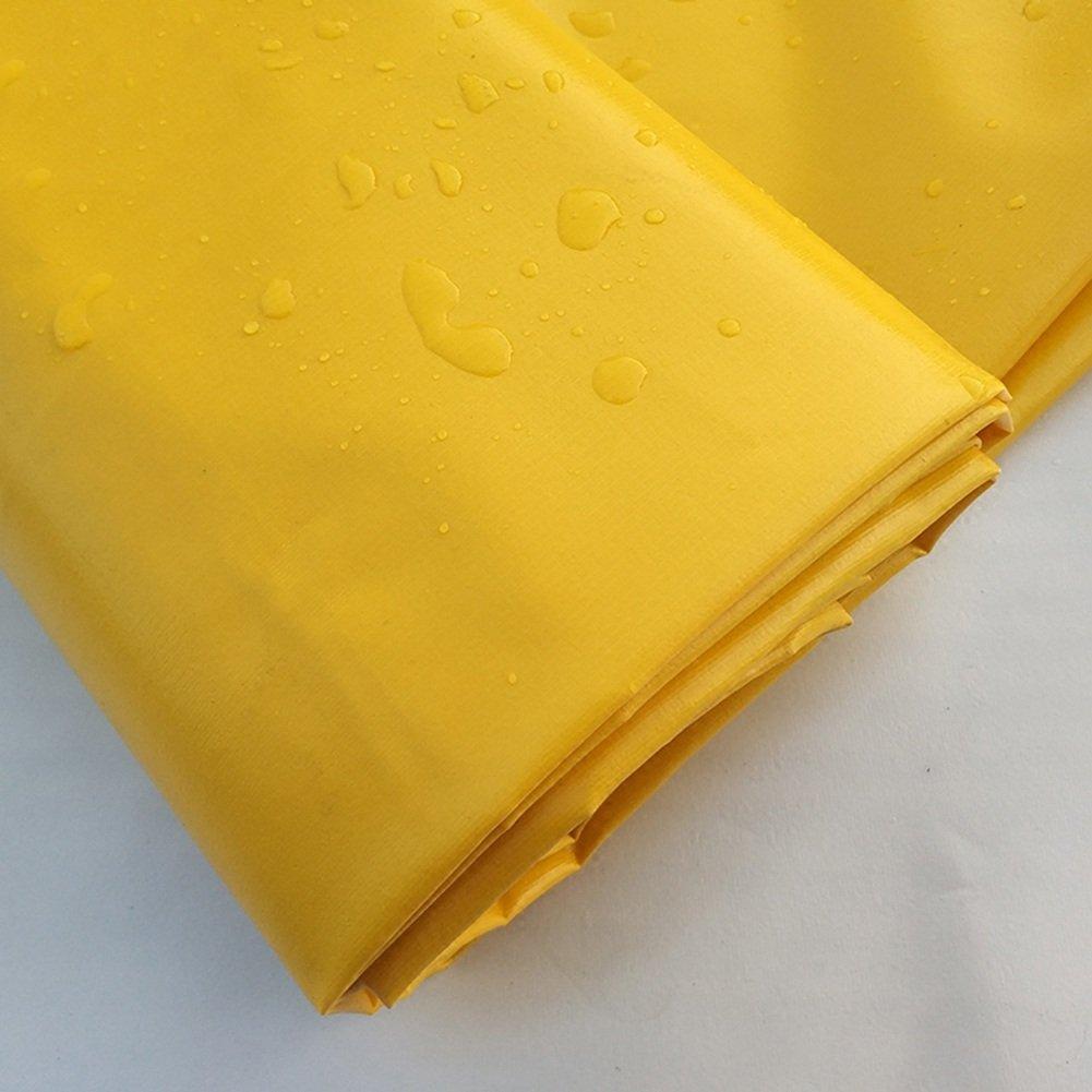 CAOYU Tarpaulin Wasserdichtes Sonnenschutzzelt Tuch Dreirad Auto Plane Anti-Korrosions-Anti-Aging, Anti-Korrosions-Anti-Aging, Plane gelb 0c00b0