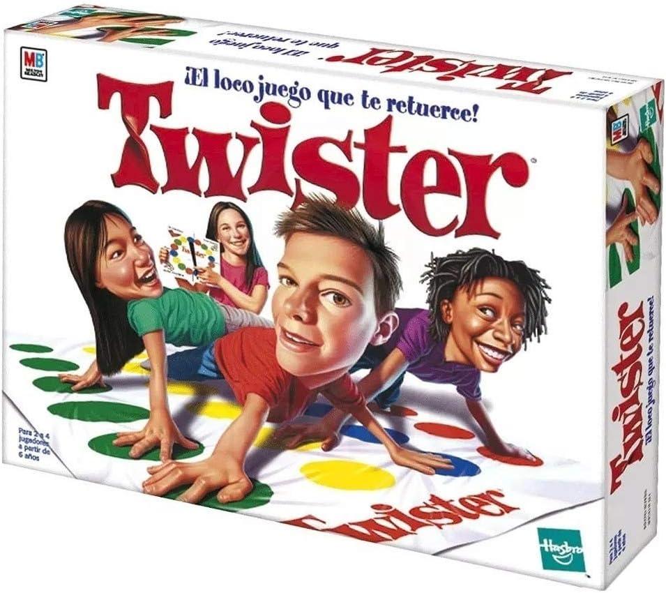 Hasbro - Juego de Mesa Lios - Twister: Amazon.es: Juguetes y juegos