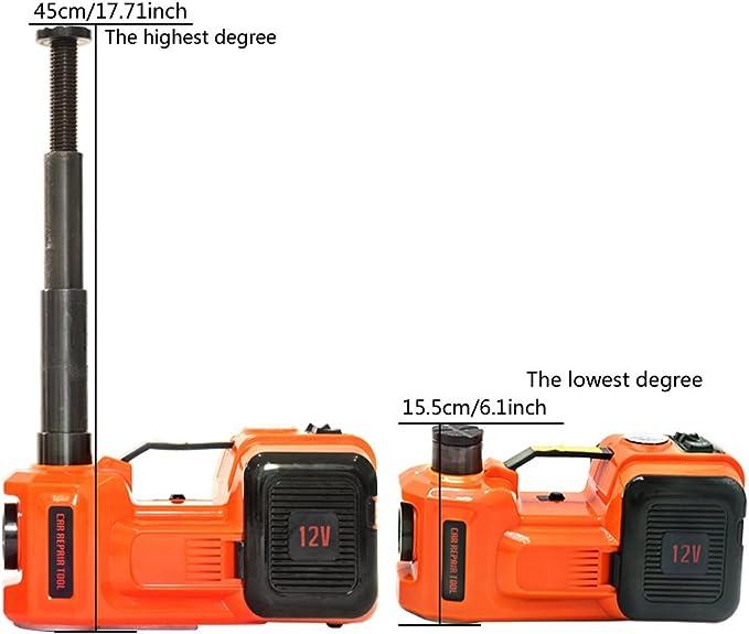 155-450 mm 35L//min Gato hidr/áulico el/éctrico de ZS Zaissang 12/V 3/toneladas 150/W