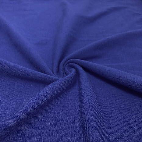 Tela elástica de punto de licra de algodón de 147,3/152,4 cm de ...