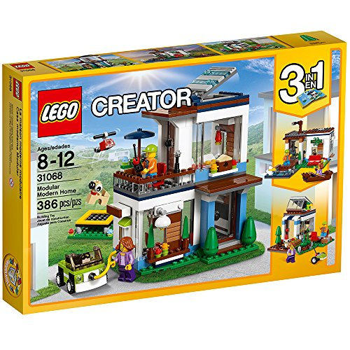 LEGO Creator Modular Modern Home 31068 Building Kit (386 Piece) JungleDealsBlog.com