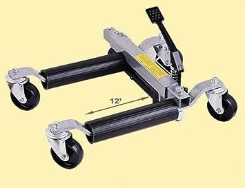 1500lbs Wheel Skate Dolly Car Skates Garage Vehicle Positioning Jack Tyre UK