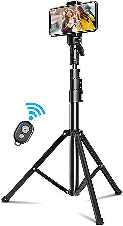Cocoda Palo Selfie Tripode, 133cm Tripode para Movil Bluetooth ...