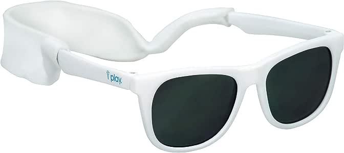 Óculos De Sol Flexível Branco Com Proteção Solar Iplay De 0-2 Anos