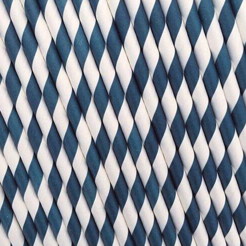 Cm 0 For Papir Partiet Sugerør Style Bryllup Resirkulert 11 Forsyninger 8 Stripe 25pcs Style 6 Yokirin qtfUwnX