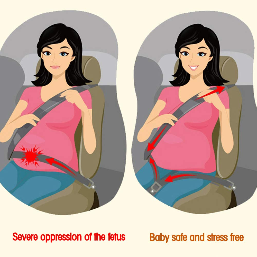 Maternity Car Belt Adjuster, Car Pregnant Belt, car can Adjust The Pregnant Belt,Pregnant car Travel by CASHIMRE