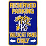 Signs 4 Fun Spsckw KY Univ Wildcat Fans Small Parking Sign