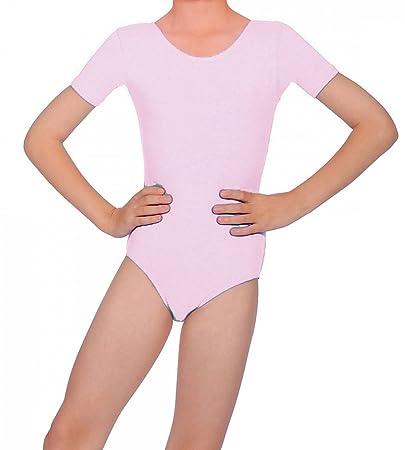sale retailer 41f65 92619 Body femminile a maniche corte da danza: Amazon.it: Sport e ...