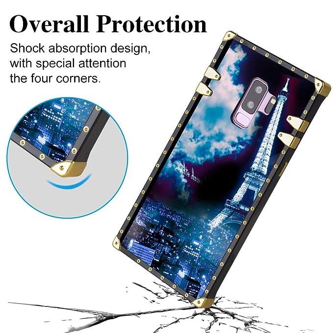 Samsung Galaxy S9 Plus Hülle Case Cover 62 Version Paris
