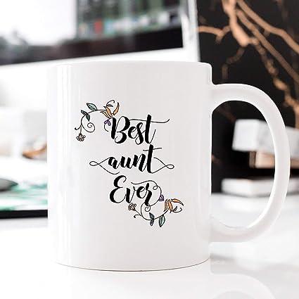 Amazoncom Best Aunt Mug Best Aunt Gift Worlds Best Aunt