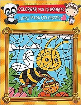 Colorear Por Numeros Libro De Actividades Para Colorear Para Niños