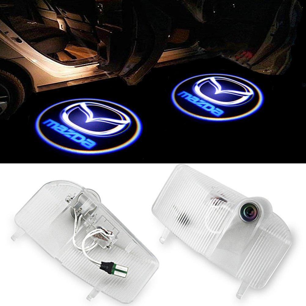LIKECAR Shadow Light Ghost Light LED Welcome Logo Door Light