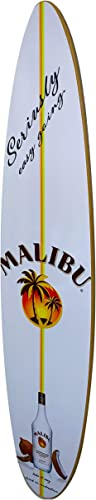 Malibu Rum Surfboard Wall Decor