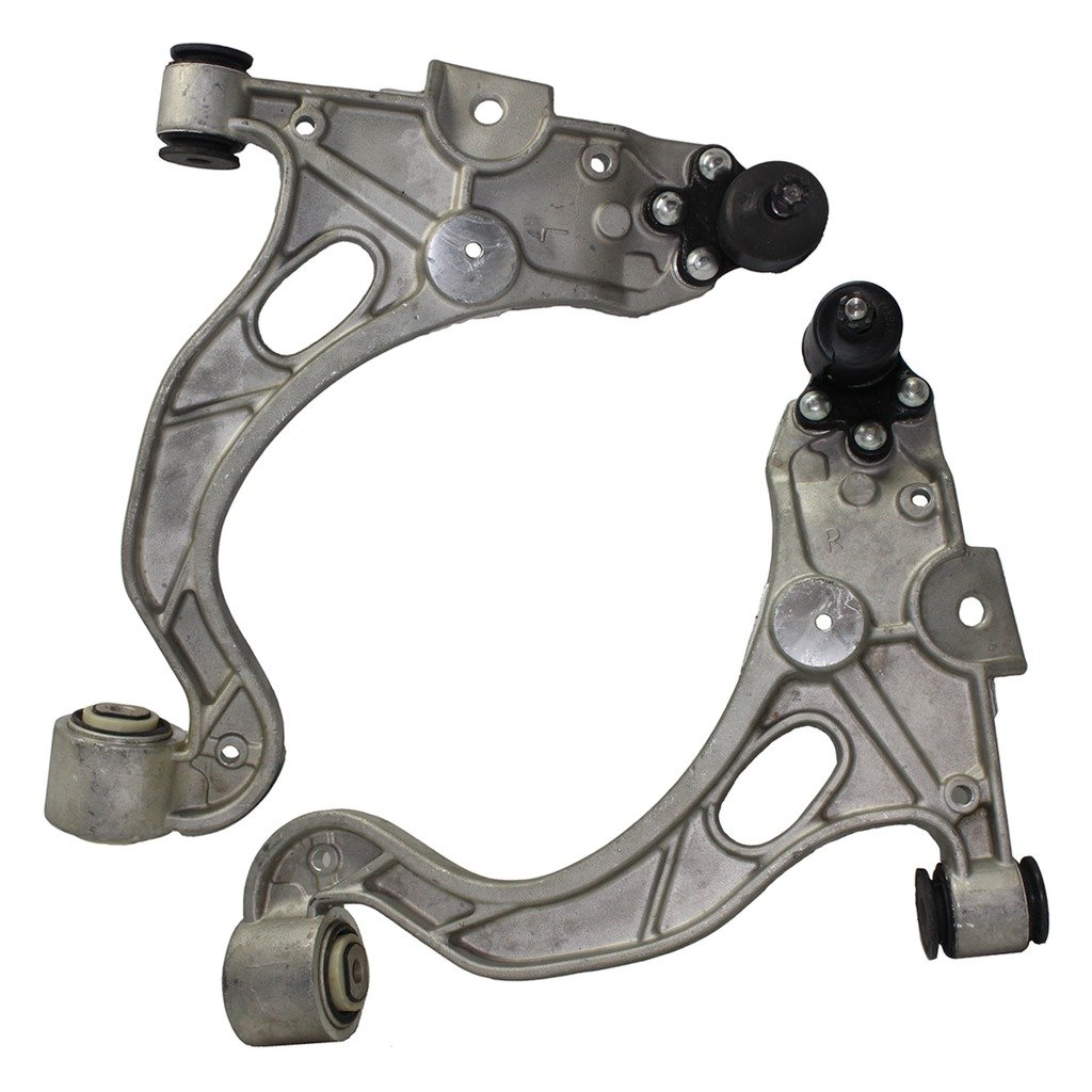 Detroit Axle - Both (2) Front Lower Control Arm and Ball Joint Assembly for 00-05 LeSabre - [98-05 Park Avenue] - 00-05 Deville 5-Lug - 98-04 SeVille - [98-04 SLS] - 98-01 Aurora - [00-05 Bonneville]