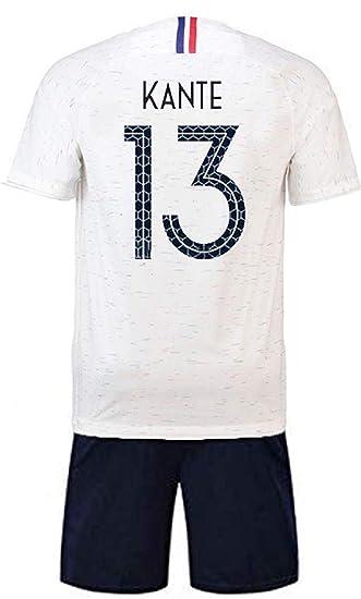 look out for online retailer free delivery Brofans Garçon Ensemble de T-Shirt et Short Coupe du Monde France 2 étoiles  Football Survêtement Maillot du Monde 2018