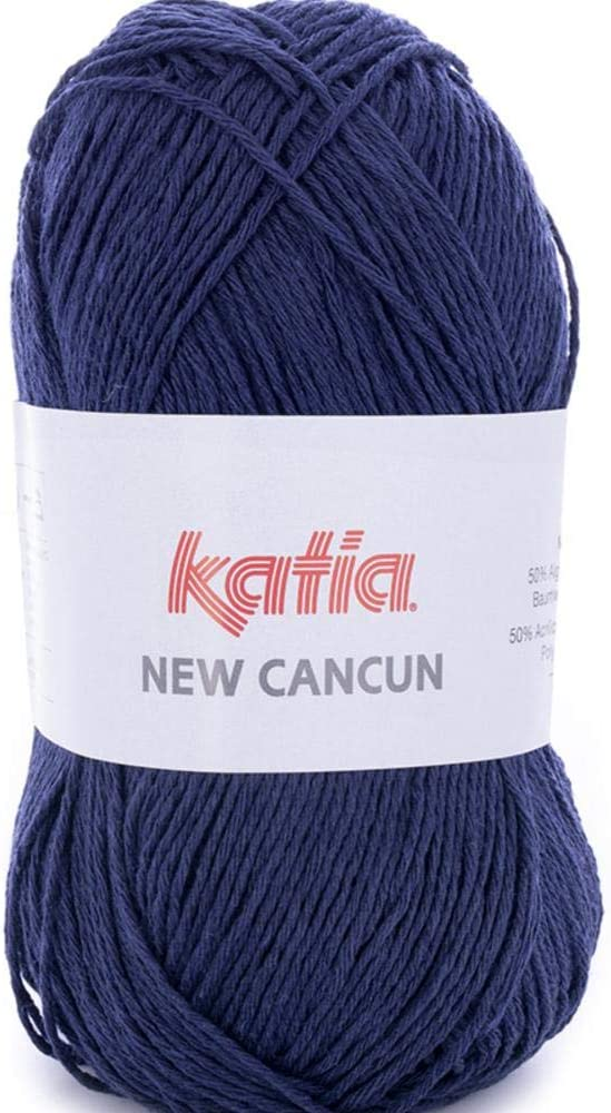 52 Lanas Katia New Cancun Ovillo de Color Camel Cod