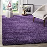 Safavieh Milan Shag Collection SG180-7373 Purple Area Rug (5'1' x 8')