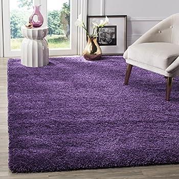 Amazon Com Safavieh Milan Shag Collection Sg180 7373 Purple Area