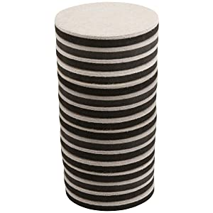 SuperSliders 4733444N Reusable Felt Furniture Sliders for Hardwood Quickly and Easily Move Any Item, Value Pack, Linen