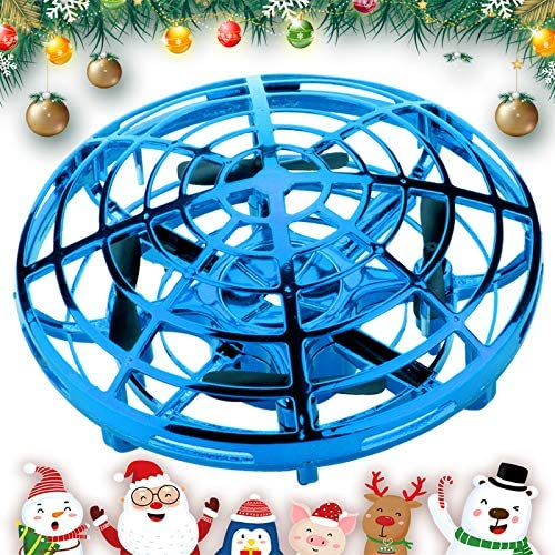 360° Rotate UFO Flying Ball LED Light Drone Toy Hand Controlled Adults Kids Gift