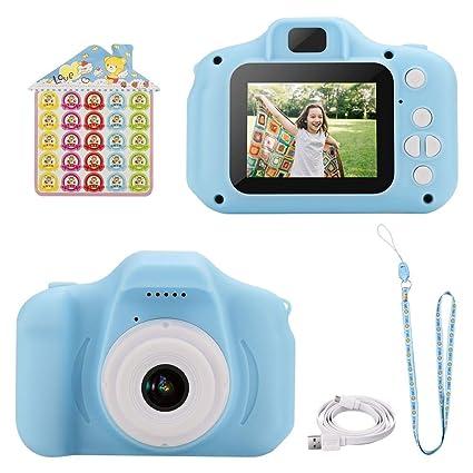 Amazon.com: WIOR Cámara de vídeo digital para niños, 1080P ...