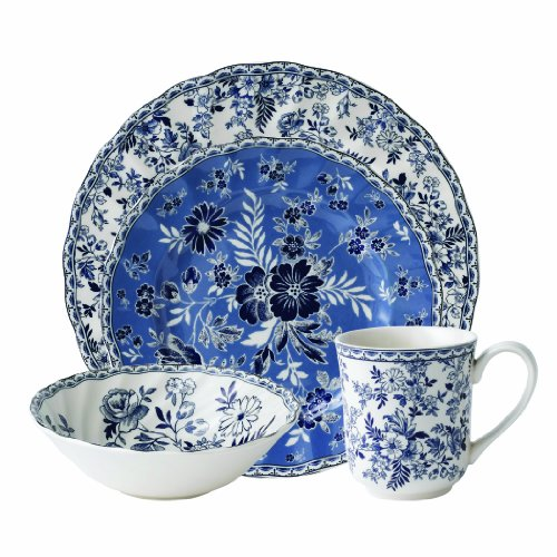 China Blue Floral Accents - 5