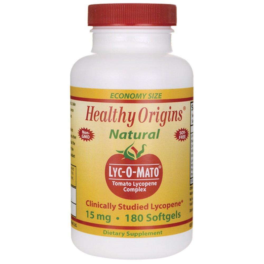 Healthy Origins, LYC-O-MATO LYCOPENE - 180 SGEL