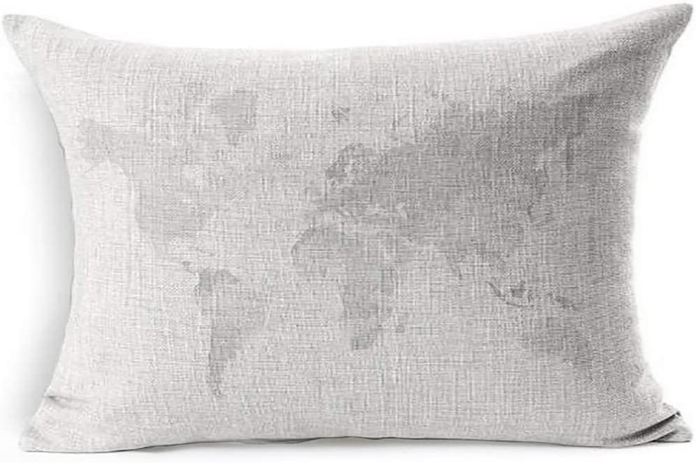 Ahawoso Linen Throw Pillow Cover 20x26