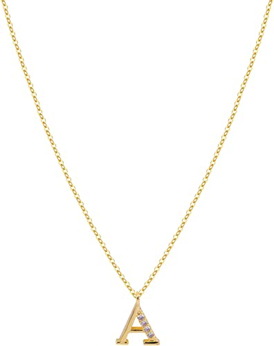 Customizable necklace with zircons Fine chain  Customizable necklace with zircon Thin chain