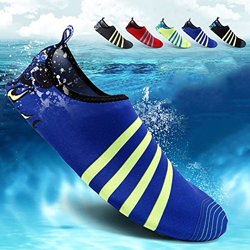 Balight Women and Men Summer Outdoor Water Shoes Aqua Socks Quick-Dry Breather Sports Skin Shoes for Beach Swim Surf Yoga Exercise Blue GacwlCz