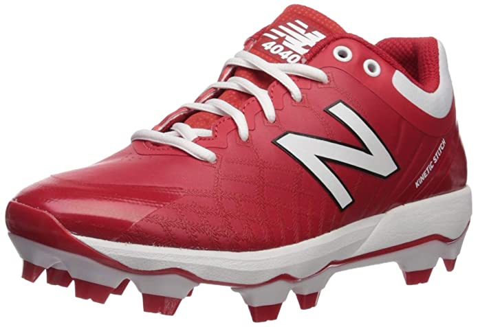 New Balance Men's 4040v5 Molded Baseball Shoe