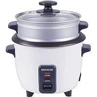 Sonashi 1 Ltr Rice Cooker With Steamer Black - SRC-310