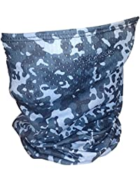 Single Layer Neck Gaiter - Lightweight Summer Protection From Sun, Surf, Wind And Moisture, For Men And Women - Fishing Single Layer Neck Gaiter Made In The USA - UPF 50+, Moisture-Wicking Performance Fabric