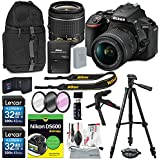 Nikon D5600 DSLR Camera and 18-55mm Lens Kit & Book for Dummies, Xpix Cleaning Accessories & Tripod, Filters+Backpack+More