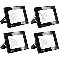 Blivrig Focos LED Exterior,30W Foco LED,IP66 resistente al agua,3000LM Super brillante Foco LED Exterior,Foco Proyector…