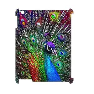 ALICASE Diy Cover Custom Case Peacock For IPad 2,3,4 [Pattern-1] by lolosakes